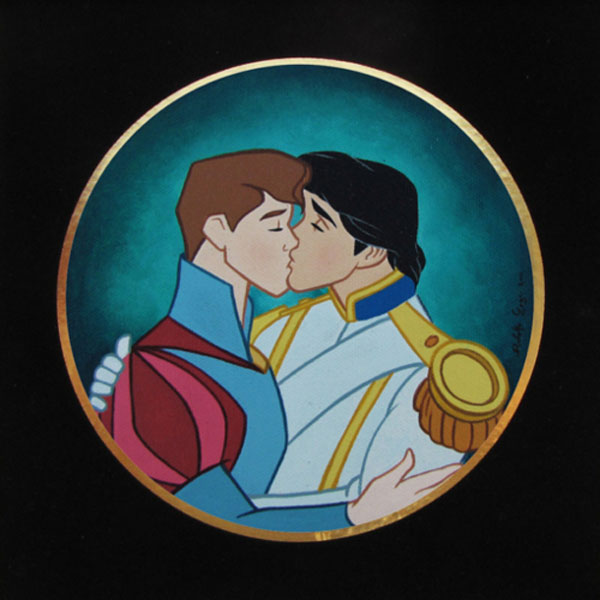 gay disney fan art