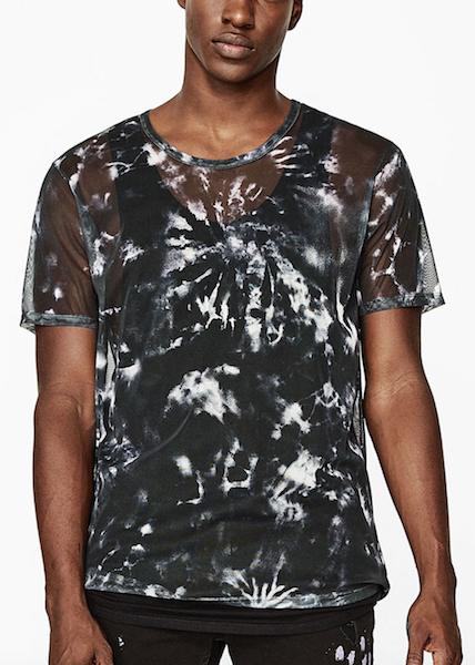coachella fashion sheer t shirt mans fashion