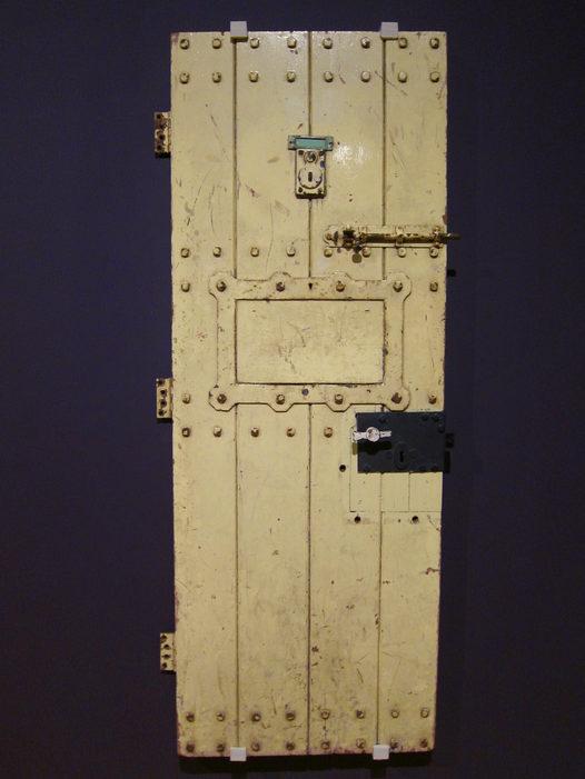 Oscar Wilde Prison Door