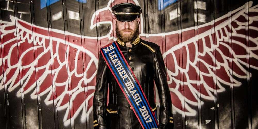 Conoce al Primer Mr. Leather de Brasil, Quien Podría Convertirse en el Mr. Leather Internacional!