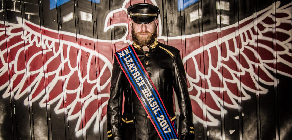 Conoce al Primer Mr. Leather de Brasil, Quien Podría Convertirse en el Mr. Leather Internacional!