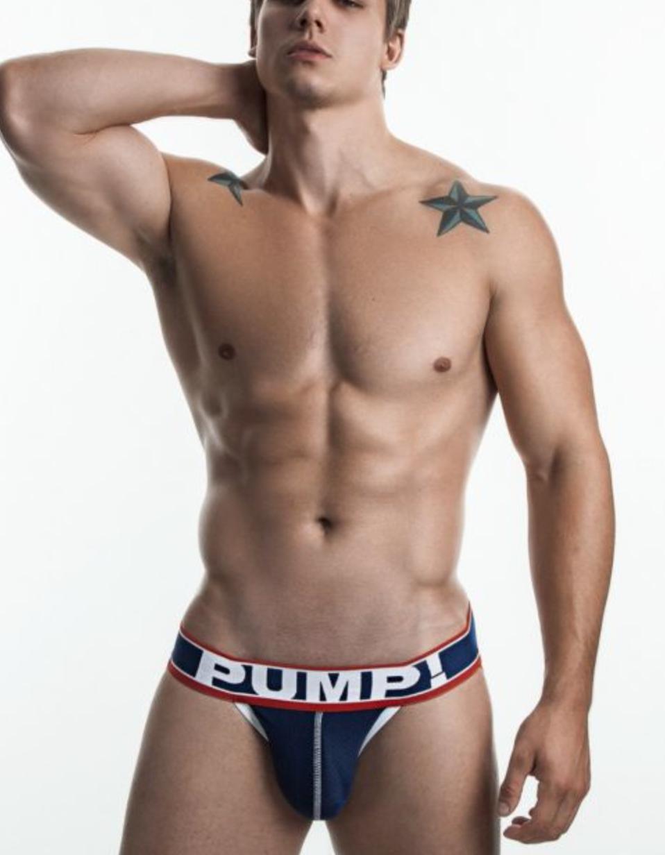jockstrap mens underwear pump