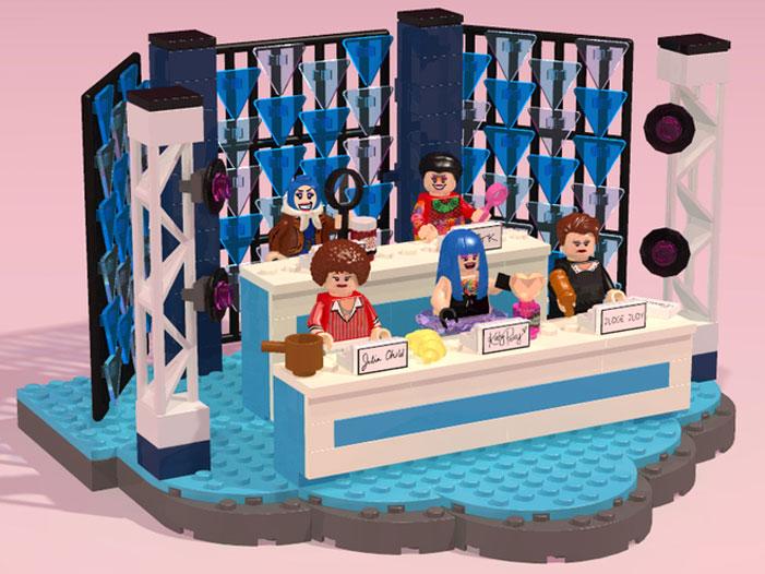 Lego RuPaul's Drag Race playset 04