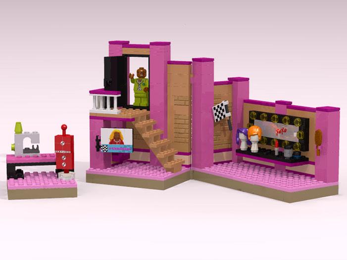 Lego RuPaul's Drag Race playset 03