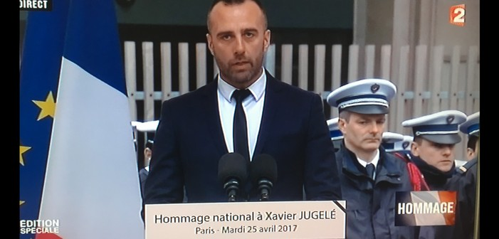 The Widower of the Gay Policeman Killed in the Paris Terror Attack Gives a Moving Tribute (Video)
