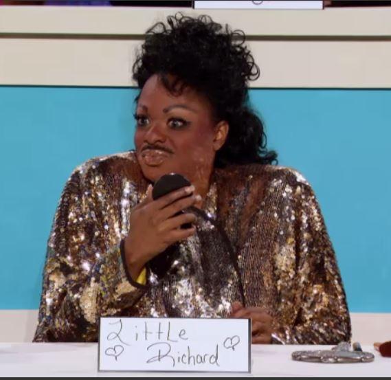 Kennedy Davenport, Little Richard, RuPaul's Drag Race Best Snatch Game impersonations 06