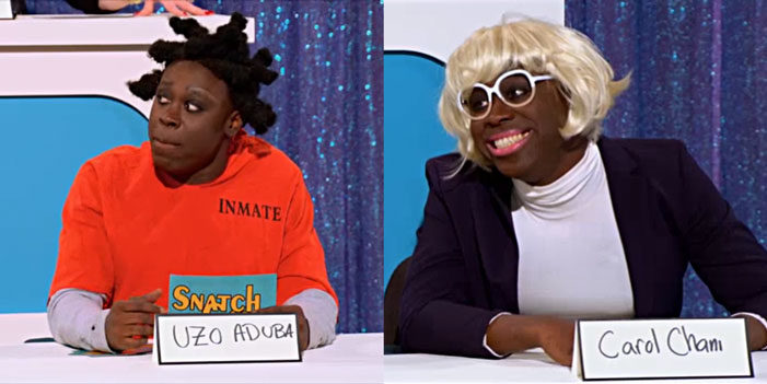 Bob the Drag Queen, Uzo Aduba, Carol Channing, RuPaul's Drag Race Best Snatch Game impersonations 11