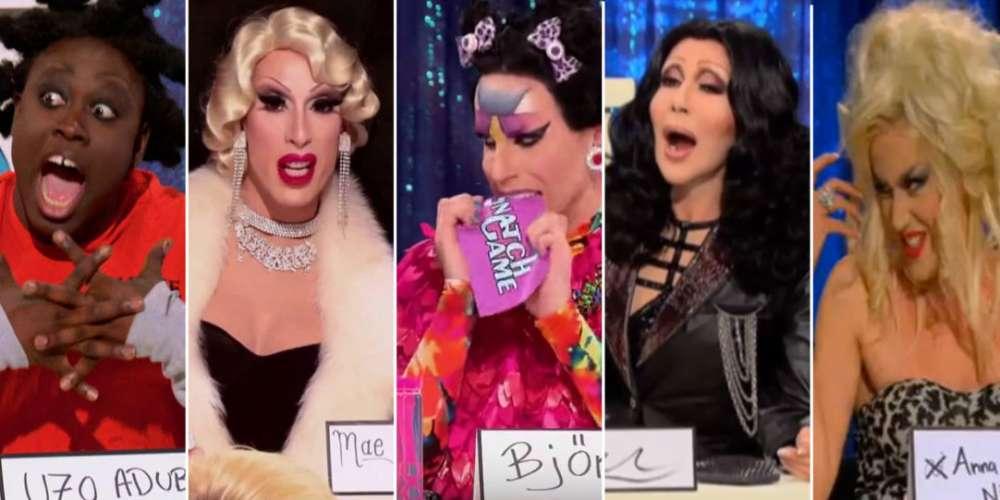 As 10 Melhores Imitadoras de Todos os Tempos do Snatch Game de 'RuPaul's Drag Race'