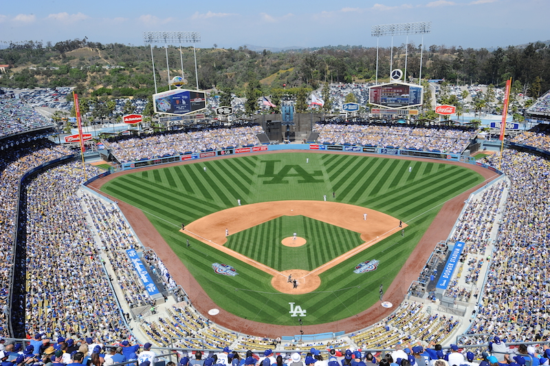 Dodgers annual LGBT night stadium