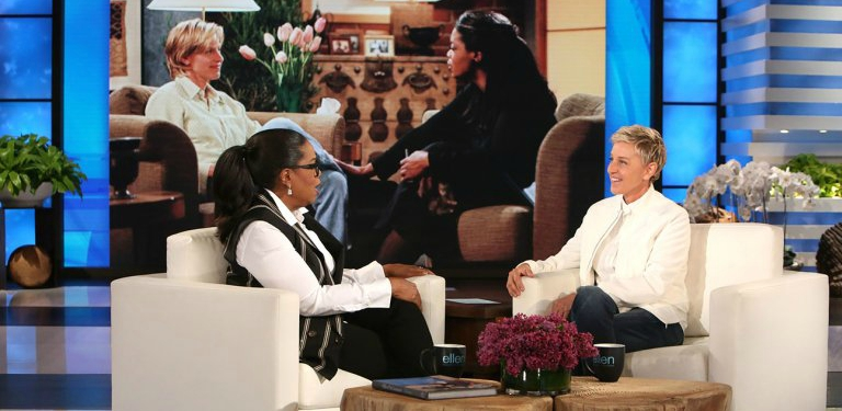 Ellen DeGeneres Celebrates Her Historical Coming Out with Oprah Winfrey and Laura Dern