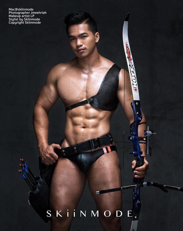 skiinmode, thai male models superhero sexy 01