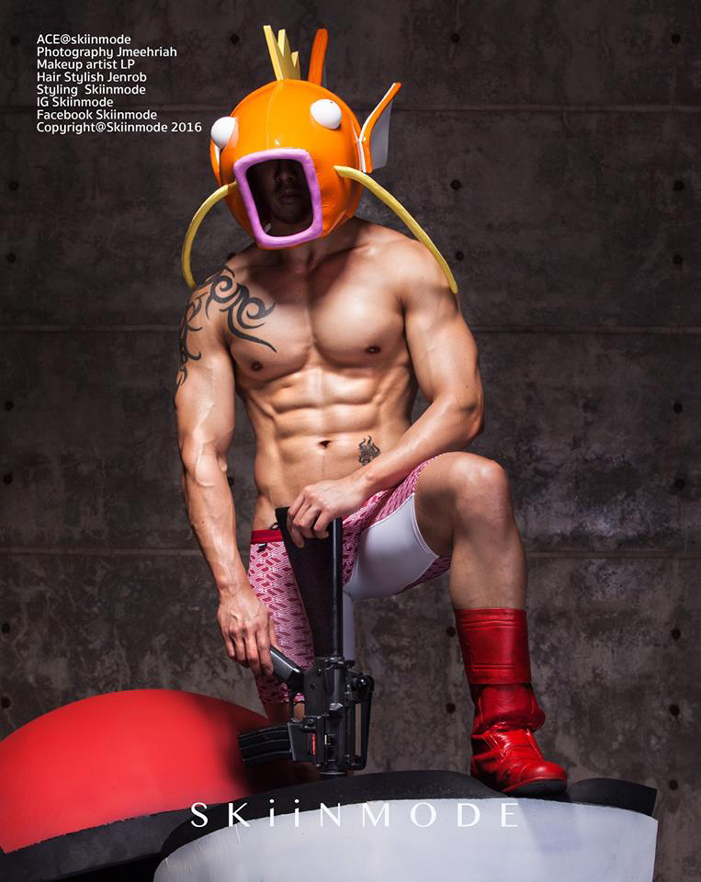 skiinmode, thai male models superhero sexy 03