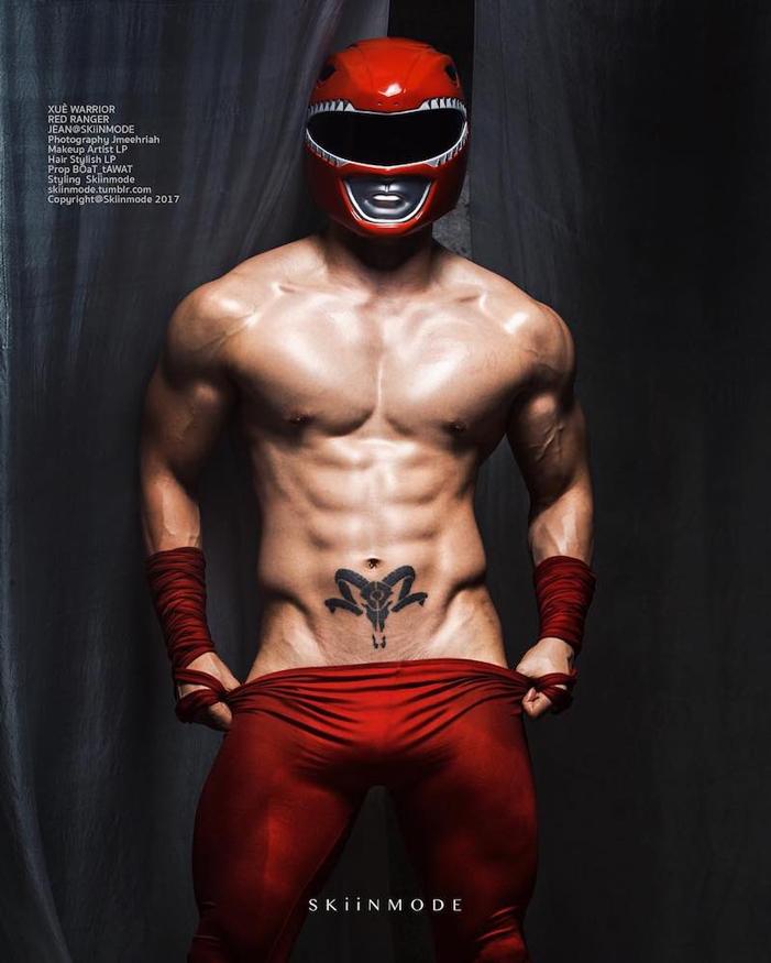 skiinmode, thai male models superhero sexy 10