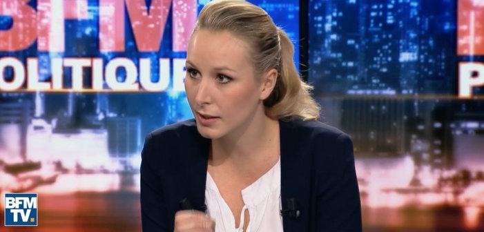 Marion Maréchal Le Pen se porte «garante» de l'abrogation du mariage pour tous