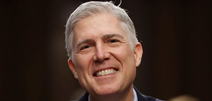 Neil Gorsuch on Gay Issues: It's Bad, Bad News