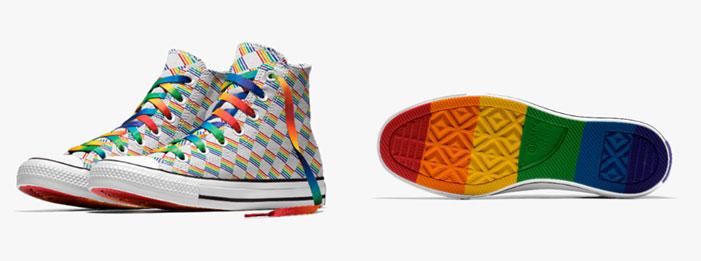 Pride sneakers Nike Addidas Converse 04