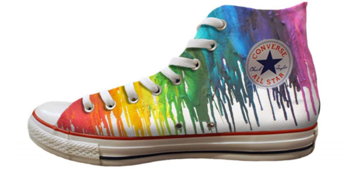 Pride sneakers Nike Adidas Converse 05