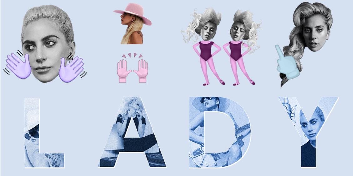 lady gaga emojis 2