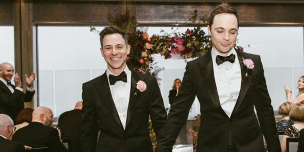 'Big Bang Theory' Actor Jim Parsons Finally Married His Partner of 14 Years This Weekend
