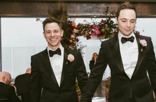 Jim Parsons marries