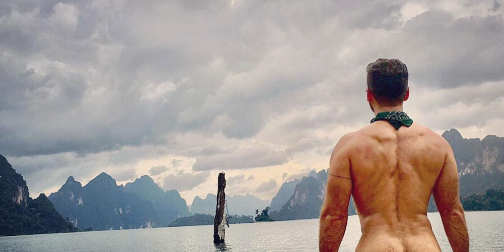 This Nude Instagrammer Uses His Butt to Benefit Progressive Charities (NSFW)