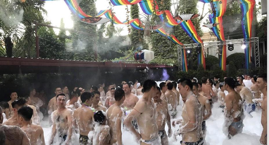 曼谷的各大精彩派對 不能錯過(泡沫趴)