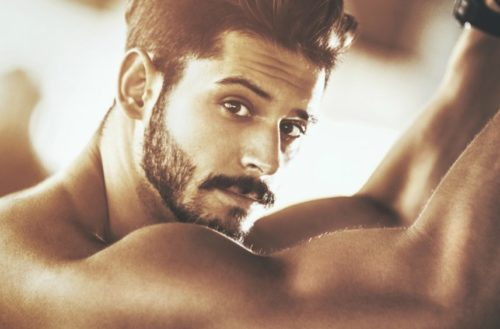 gay men beards