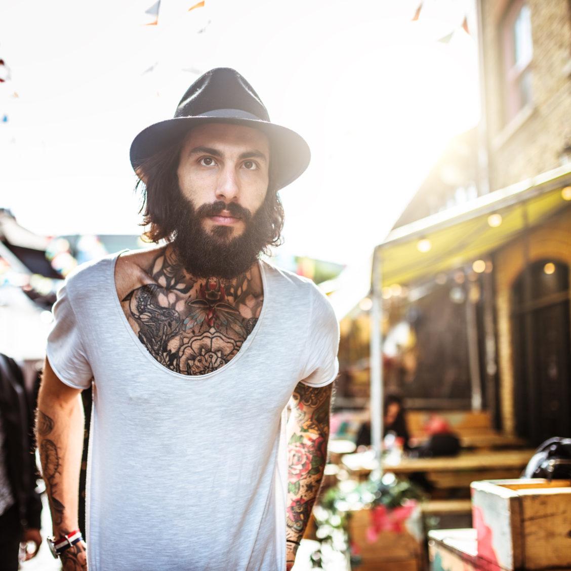 gay men beard