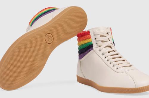 gucci pride sneakers
