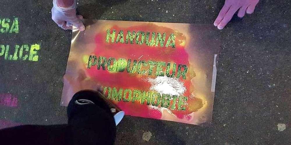 Action militante LGBTQ au CSA: L'homophobie assumée d'Hanouna ne passe plus