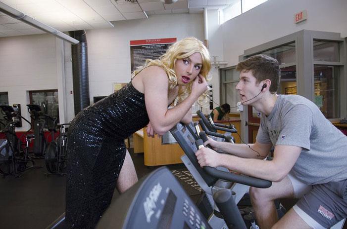 genderqueer athlete school gym photos 02