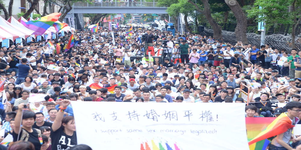 亞洲第一個婚姻平權國家     台灣大法官:「同性婚姻法兩年內必須通過」