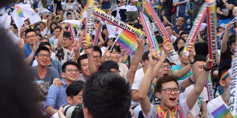 Taïwan devient le premier pays d'Asie à ouvrir le mariage pour tous
