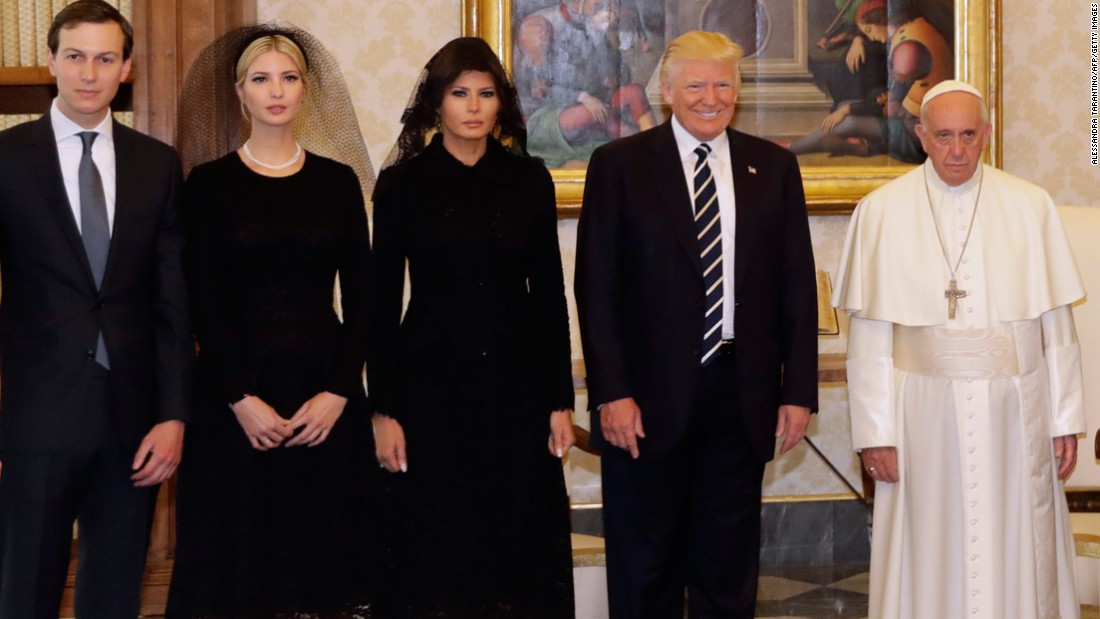 pope francis donald trump family