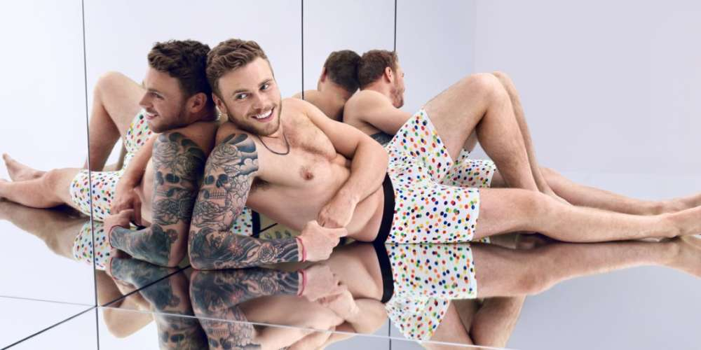 Gus Kenworthy and Other LGBT Celebs are Stripping to Raise Money for Charity