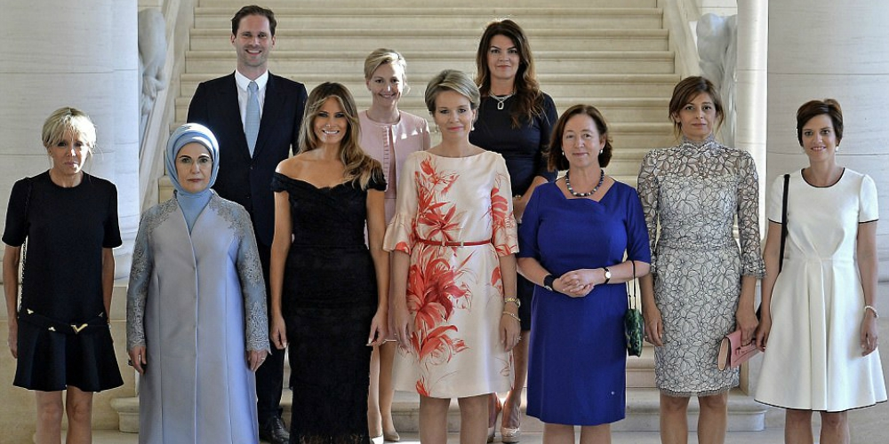 Here's the Lone Gay Husband Who Posed in a Photo of World Leaders' Spouses