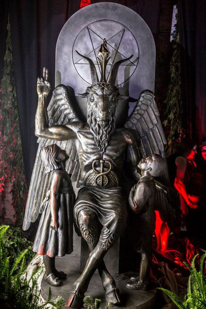 Satanic Temple monument 07