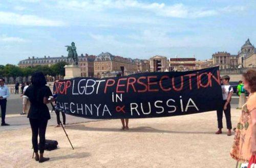 macron lgbt tchétchénie poutine