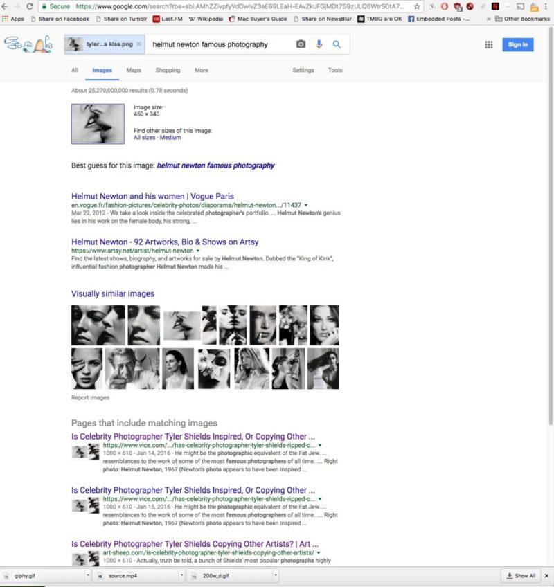tyler shields plagiarism google