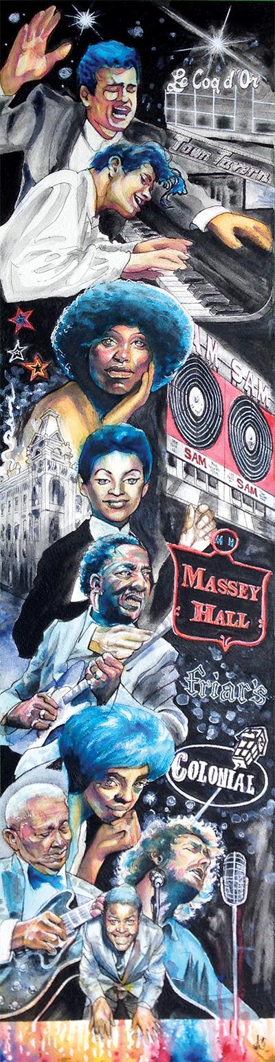 Jackie Shane mural