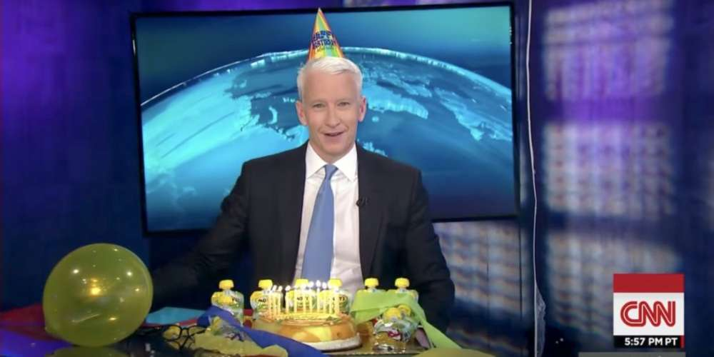Watch Andy Cohen and Kelly Ripa Surprise Anderson Cooper on His Birthday