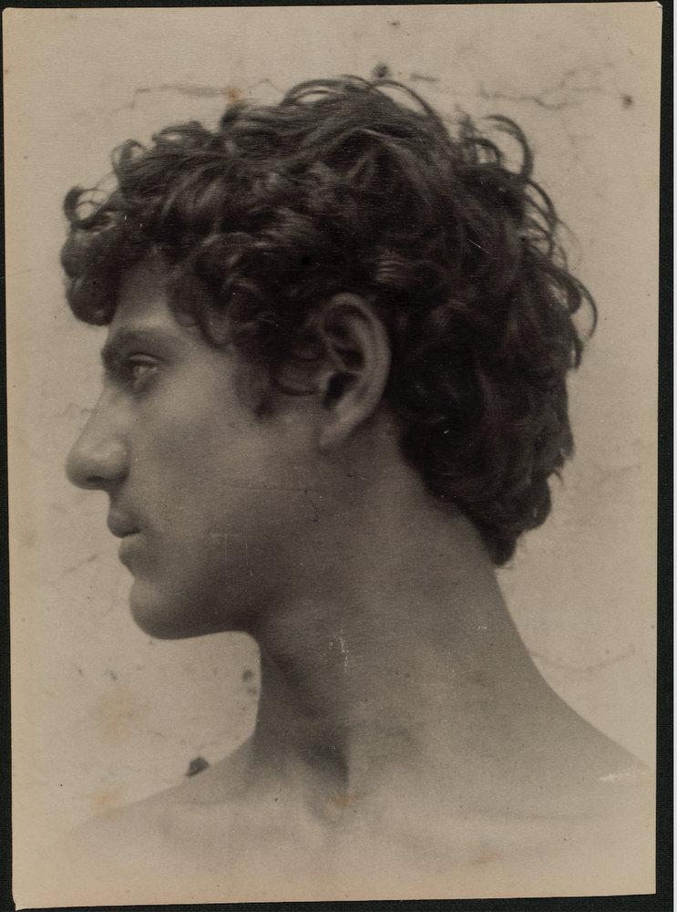 Photographie de Vincenzo Gladi par Guglielmo Plüschow