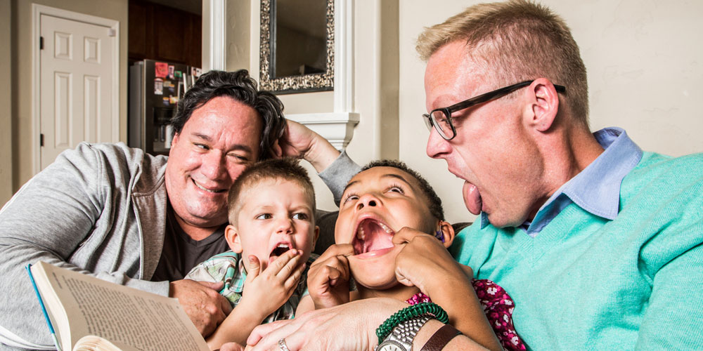A New Study Shows Gay Fathers Are Better Than Straight Dads in One Very Important Way