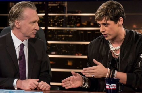 bill maher milo return