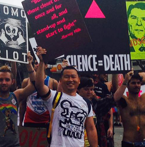 L.A.'s #ResistMarch che