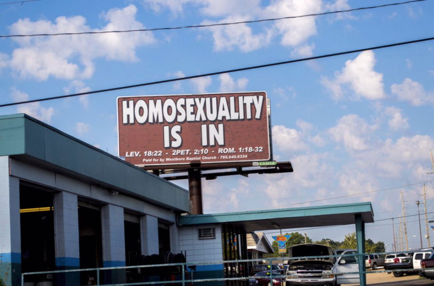 hornet billboard campaign WBC sign