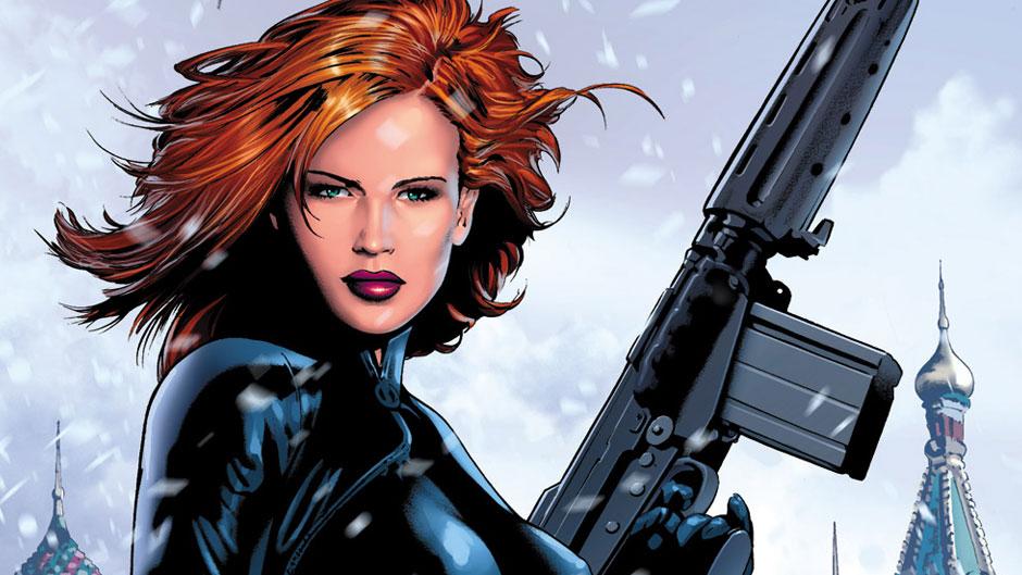 superheroines black widow