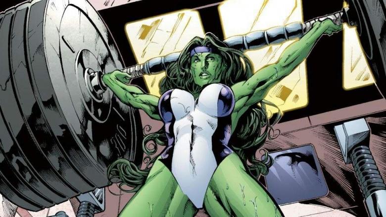 superheroines she-hulk