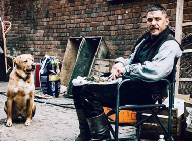 Tom Hardy's Dog Tribute