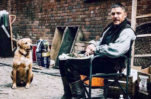 Tom Hardy's Dog Tribute